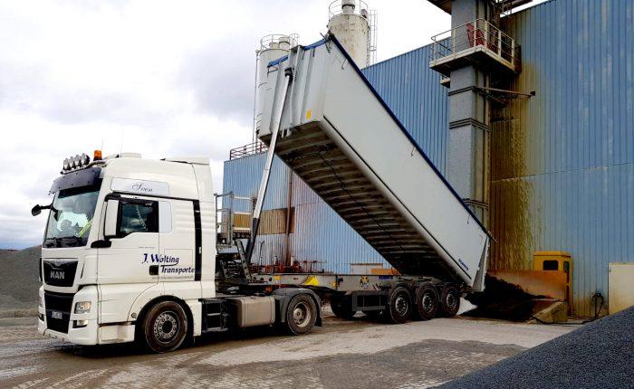 Wolting Transporte Petershagen LKW Schüttgut